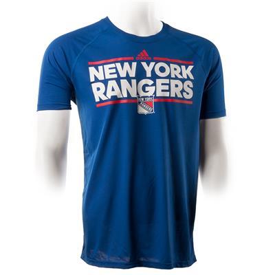 Adidas New York Rangers Dassler Short Sleeve Tee