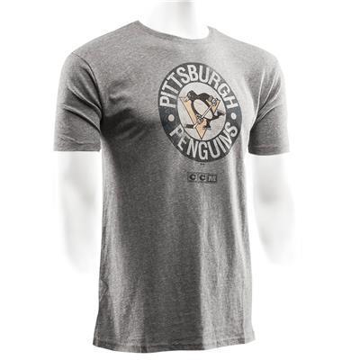 CCM Pittsburgh Penguins Heritage Logo Short Sleeve Tee