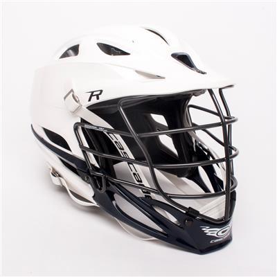 Cascade R Helmet White Shell Cage
