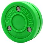 Green Biscuit Stick Handling Training Puck - 5oz