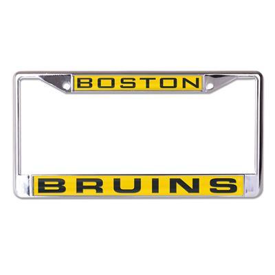 Wincraft Wincraft NHL Inlaid Metal License Plate Frame - Boston Bruins