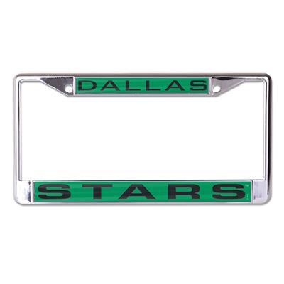 Wincraft Wincraft NHL Inlaid Metal License Plate Frame - Dallas Stars