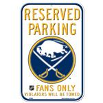 Wincraft NHL Reserved Parking Sign - Buffalo Sabres