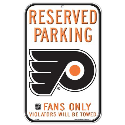 Wincraft Wincraft NHL Reserved Parking Sign - Philadelphia Flyers