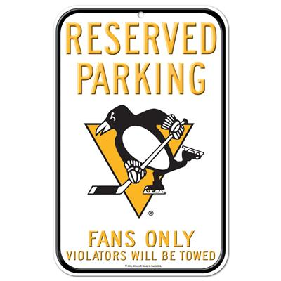 Wincraft Wincraft NHL Reserved Parking Sign - Pittsburgh Penguins