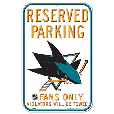 Wincraft Wincraft NHL Reserved Parking Sign - San Jose Sharks