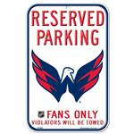 Wincraft NHL Reserved Parking Sign - Washington Capitals