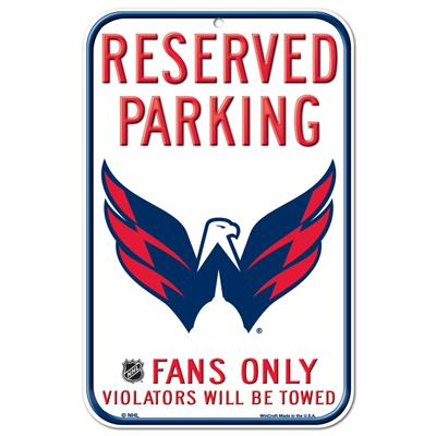 Wincraft Wincraft NHL Reserved Parking Sign - Washington Capitals