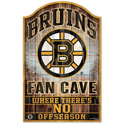 "Wincraft Wincraft NHL Wood Sign - 11"" x 17"" - Boston Bruins"