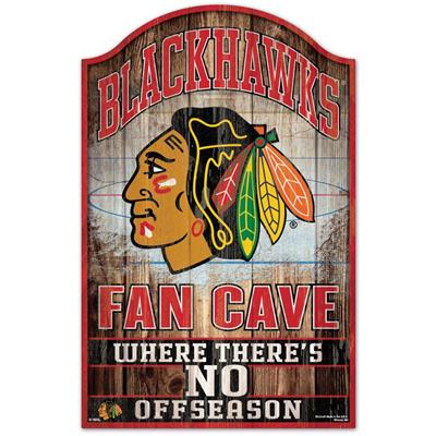 "Wincraft Wincraft NHL Wood Sign - 11"" x 17"" - Chicago Blackhawks"
