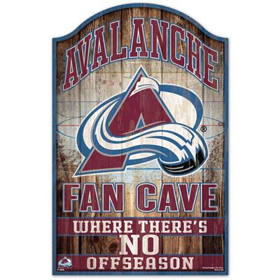 "Wincraft Wincraft NHL Wood Sign - 11"" x 17"" - Colorado Avalanche"