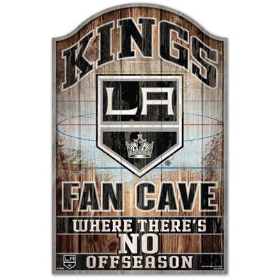 """Wincraft Wincraft NHL Wood Sign - 11"""" x 17"""" - Los Angeles Kings"""