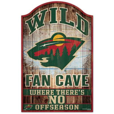 "Wincraft Wincraft NHL Wood Sign - 11"" x 17"" - Minnesota Wild"