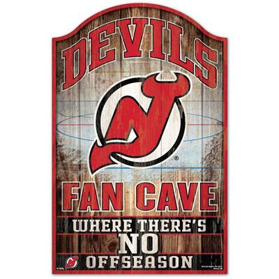 "Wincraft Wincraft NHL Wood Sign - 11"" x 17"" - New Jersey Devils"