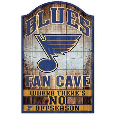 "Wincraft Wincraft NHL Wood Sign - 11"" x 17"" - St. Louis Blues"