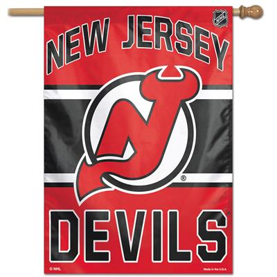 "Wincraft Wincraft NHL Vertical Flag - 27"" x 37"" - New Jersey Devils"