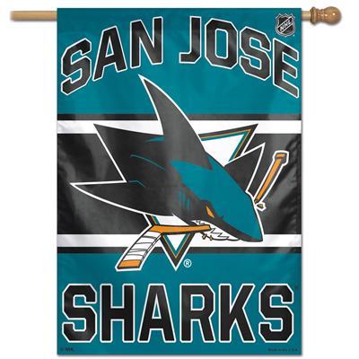 """Wincraft Wincraft NHL Vertical Flag - 27"""" x 37"""" - San Jose Sharks"""