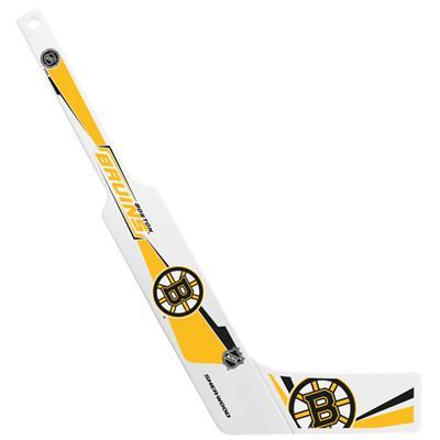 Sher-Wood Sher-Wood Plastic Goalie Mini-Stick - Boston Bruins