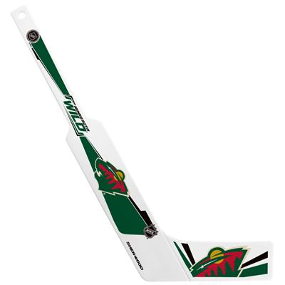 Sher-Wood Plastic Goalie Mini-Stick - Minnesota Wild