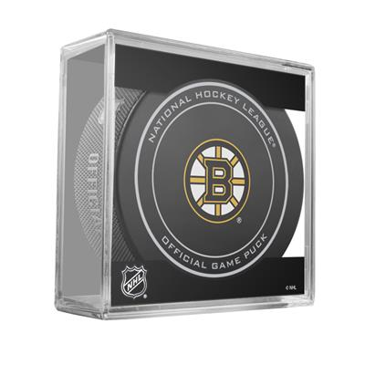Sher-Wood Sher-Wood NHL Official Game Puck - Boston Bruins