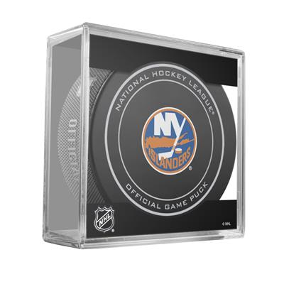 Sher-Wood Sher-Wood NHL Official Game Puck - New York Islanders