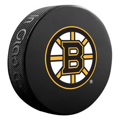 Sher-Wood Sher-Wood NHL Basic Logo Puck - Boston Bruins