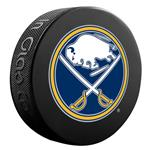InGlasco NHL Basic Logo Puck - Buffalo Sabres