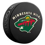 InGlasco NHL Basic Logo Puck - Minnesota Wild
