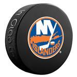 InGlasco NHL Basic Logo Puck - New York Islanders