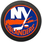 InGlasco NHL Mini Puck Charms - New York Islanders