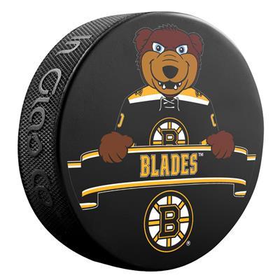 Sher-Wood NHL Mascot Souvenir Puck - Boston Bruins