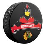 Sher-Wood NHL Mascot Souvenir Puck - Chicago Blackhawks