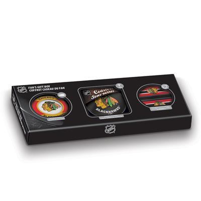 Sher-Wood NHL Fan Gift Box - Chicago Blackhawks