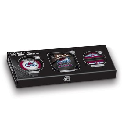 Sher-Wood Sher-Wood NHL Fan Gift Box - Colorado Avalanche
