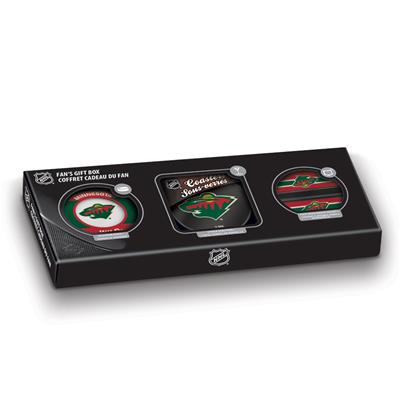 Sher-Wood Sher-Wood NHL Fan Gift Box - Minnesota Wild