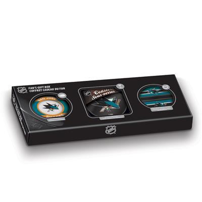Sher-Wood Sher-Wood NHL Fan Gift Box - San Jose Sharks