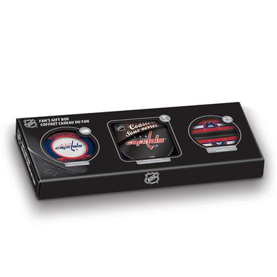 Sher-Wood Sher-Wood NHL Fan Gift Box - Washington Capitals
