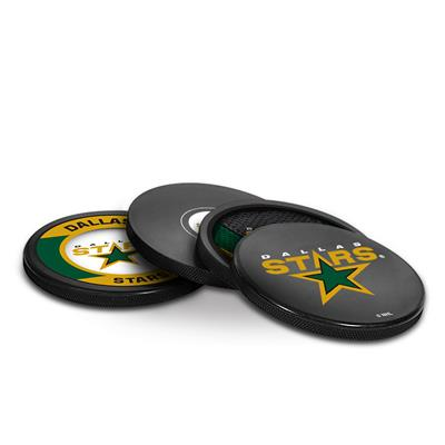 Sher-Wood Puck Coasters Pack - Dallas Stars