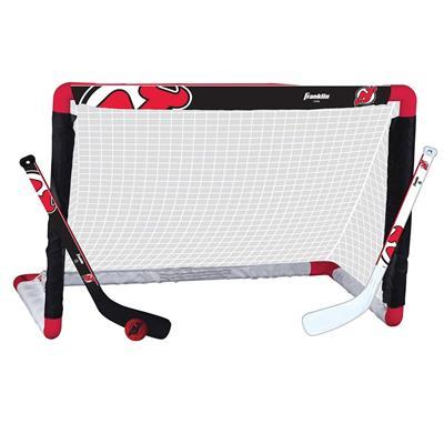 Franklin Franklin NHL Team Mini Hockey Goal Set - New Jersey Devils
