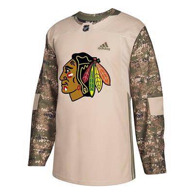 Adidas Chicago Blackhawks Camo Jersey