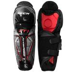 CCM JetSpeed FT1 Youth Hockey Shin Guards [YOUTH]