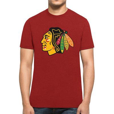 47 Brand Chicago Blackhawks Red Club Tee