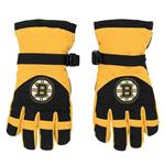 Adidas Nylon Winter Gloves - Boston Bruins - Youth