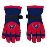 Adidas Nylon Winter Gloves - Washington Capitals - Youth