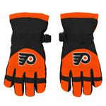 Adidas Nylon Winter Gloves - Philadelphia Flyers - Youth