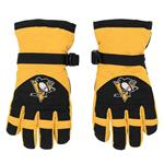Adidas Nylon Winter Gloves - Pittsburgh Penguins - Youth
