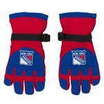 Adidas Nylon Winter Gloves - New York Rangers - Youth