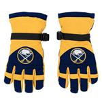 Adidas Nylon Winter Gloves - Buffalo Sabres - Youth