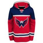Adidas Washington Capitals Asset Pullover Hoodie - Youth