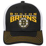 Adidas Boston Bruins Winger Youth Hat